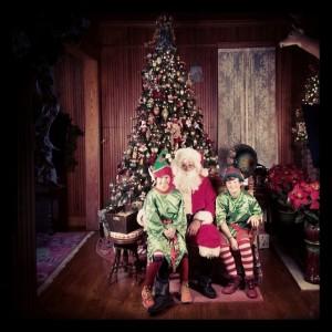 Stranahan House Santa and Elves