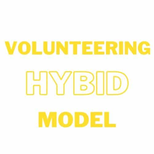 Blog 42 - Volunteer Hybrid Model
