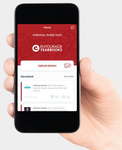 Entourage Link Mobile App