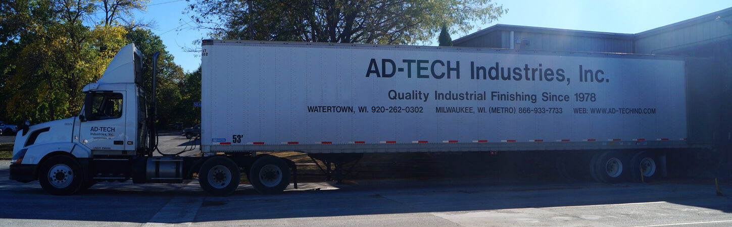 Ad Tech Truck we deliver and pick up