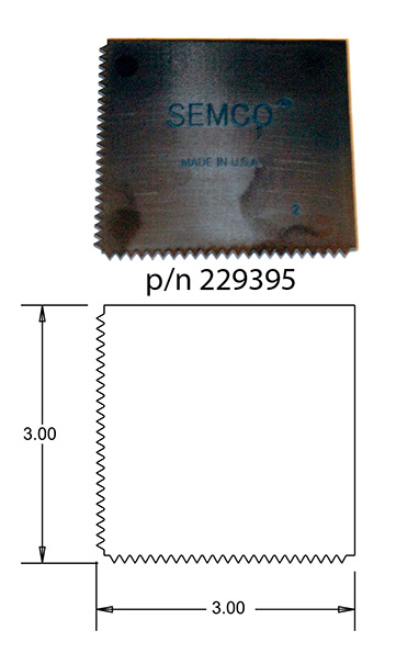 Semco Sealant Spreader p/n 229395