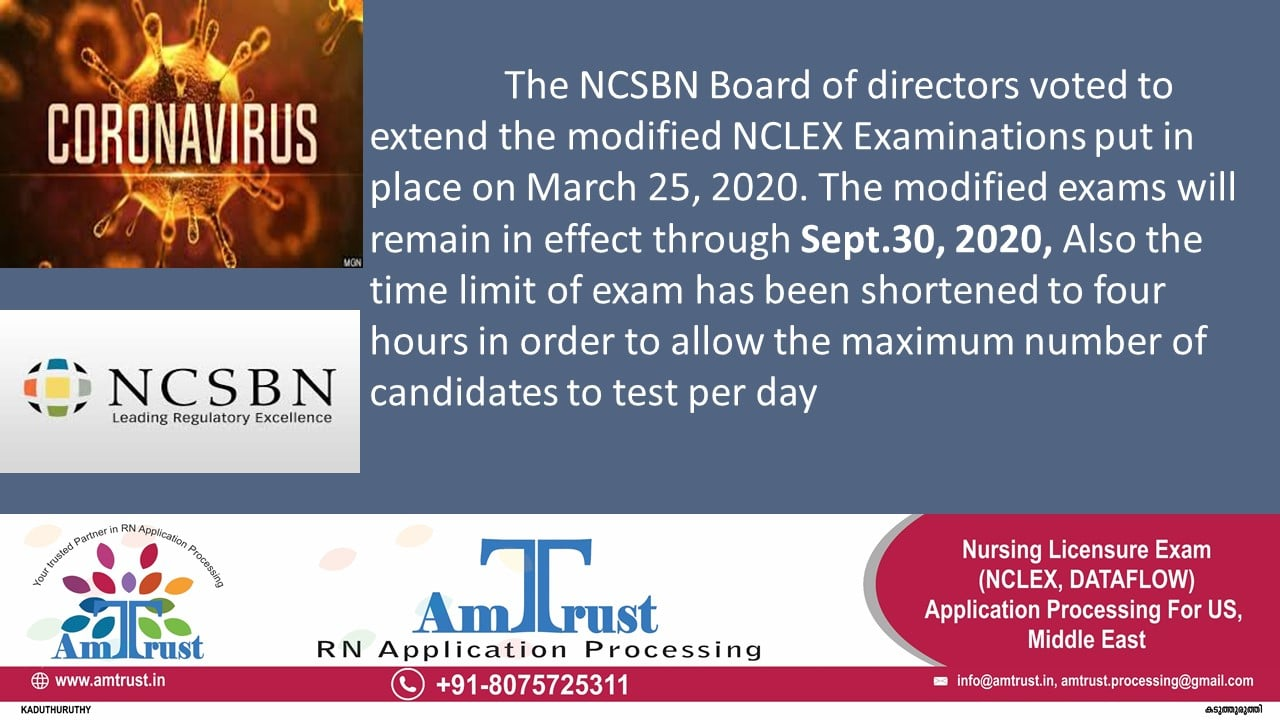NCLEX RN New Format Exam Extension