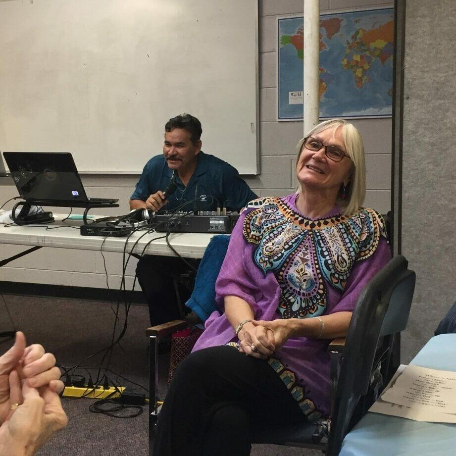 Our teacher Burna
