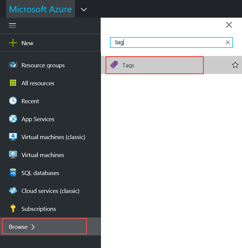 Tagging Azure Resources