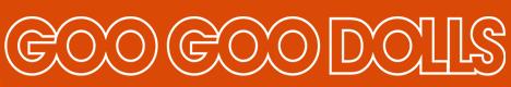 Goo Goo Dolls banner