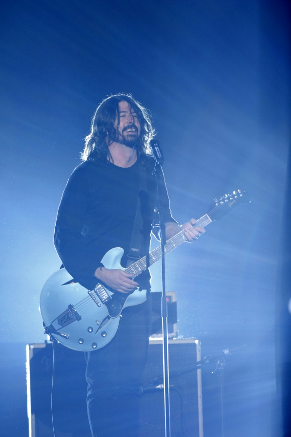 Dave Grohl (Photo Courtesy of CBS)