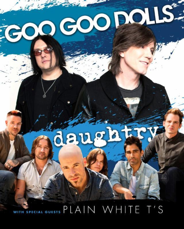 Goo Goo Dolls Daughtry