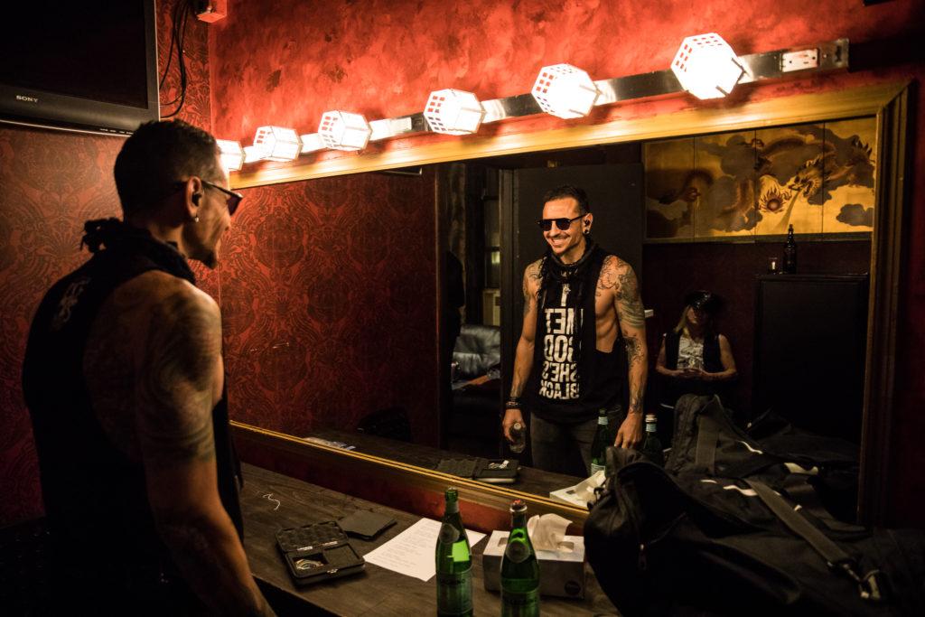 Chester Bennington Linkin Park Matt Bishop Photo