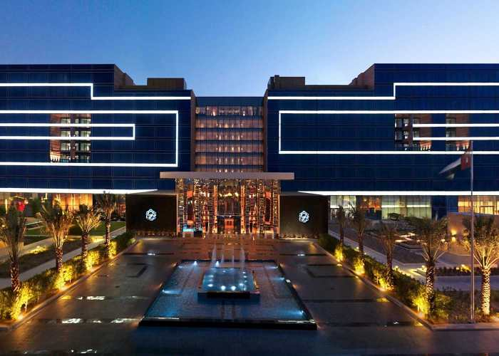 Fairmont Facade Lighting Project - Abu Dhabi