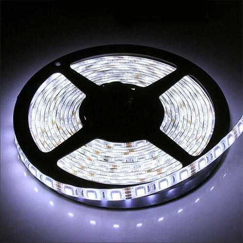 High CRI Super Brightness 5M Waterproof IP64 300 LED Strip Light 2835 SMD String Ribbon Tape Roll 12VDC