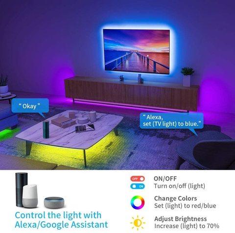 Smart Wi Fi RGB LED Strip Light Kit Bright 5050 30 LED 12V WaterproofIP 54 01 | LED Corner