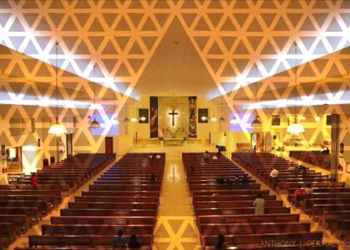 St. Marys Church Dubai Lighting Project | LED Corner