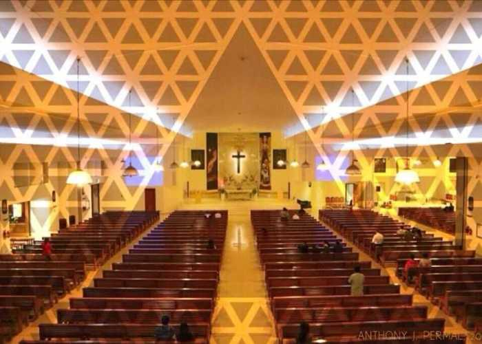 St. Marys Church Dubai Lighting Project