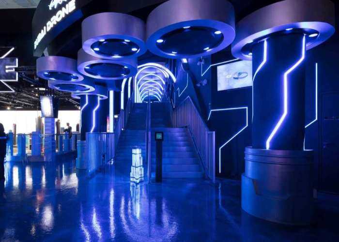 VR Park Lighting Project - Dubai Mall