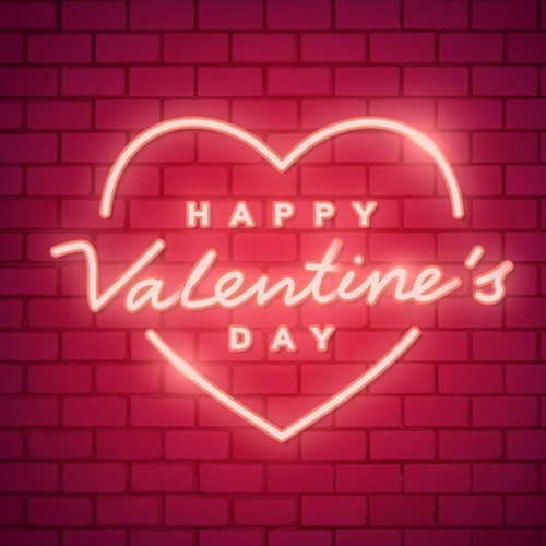 Happy Valentines Day LED Neon Sign