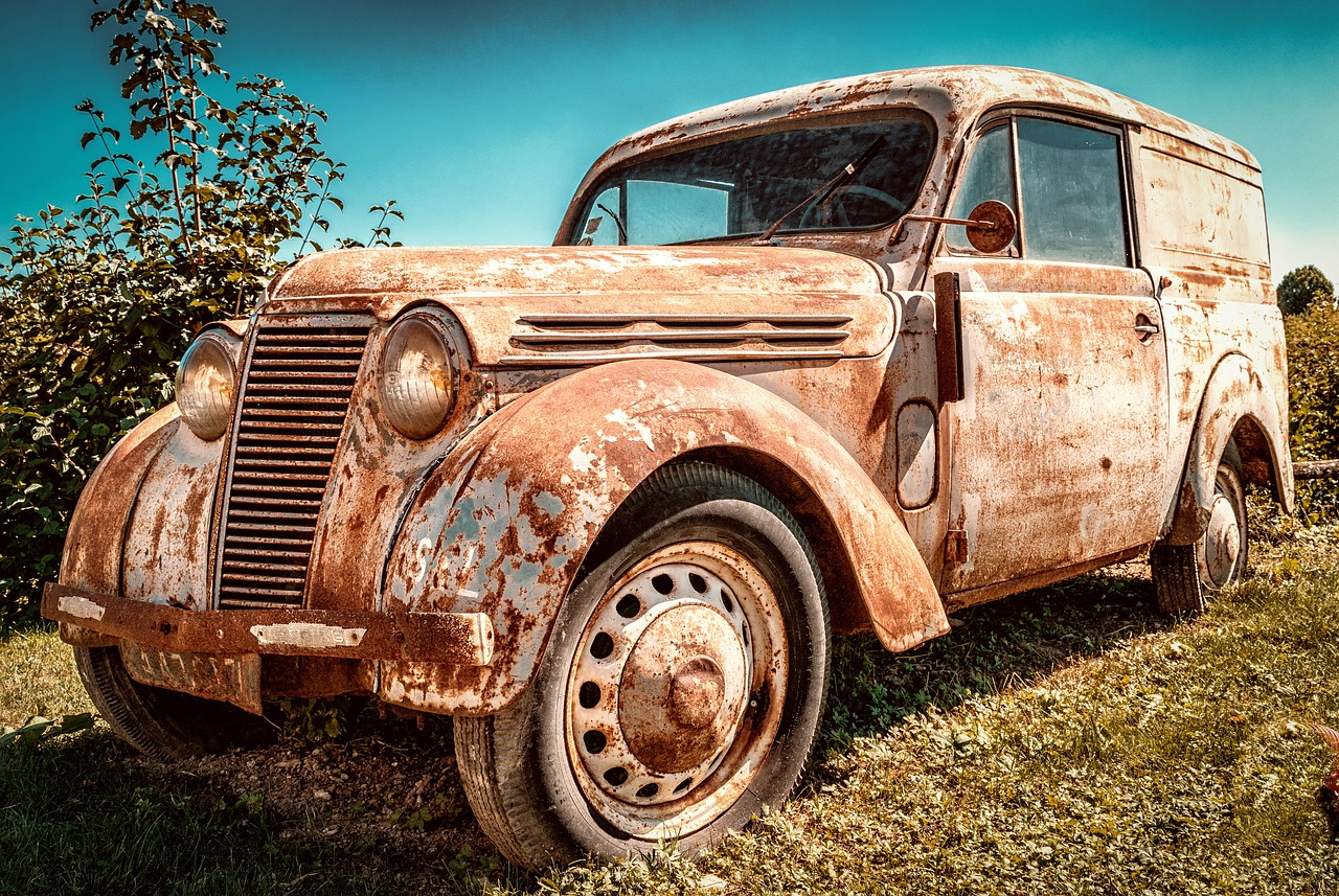 Rusted Renault