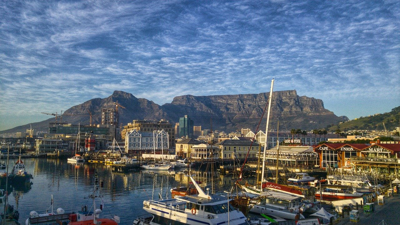 cape town, table mountain, waterfront