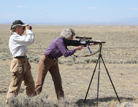 Partnered with the BLM in field darting mares with an equine contraceptive inoculation to prevent conception of foals.