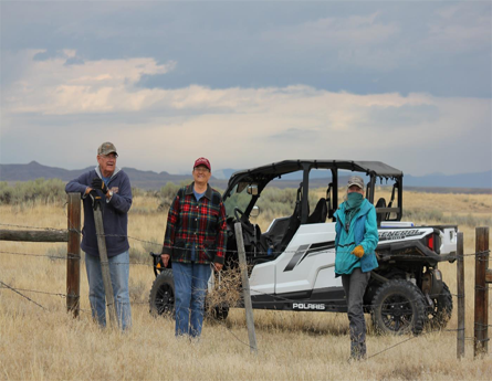 Work with the BLM to open gates at the end of the cattle grazing season.