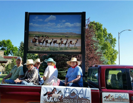 Participate in Cody's 4th of July Parade.