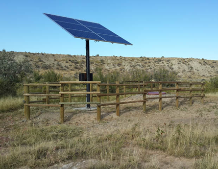 Partnered with the BLM, Marathon Oil and numerous others to develop reliable water sources within the HMA.