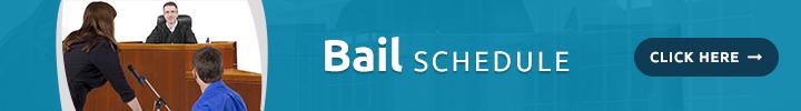 Bail Schedule