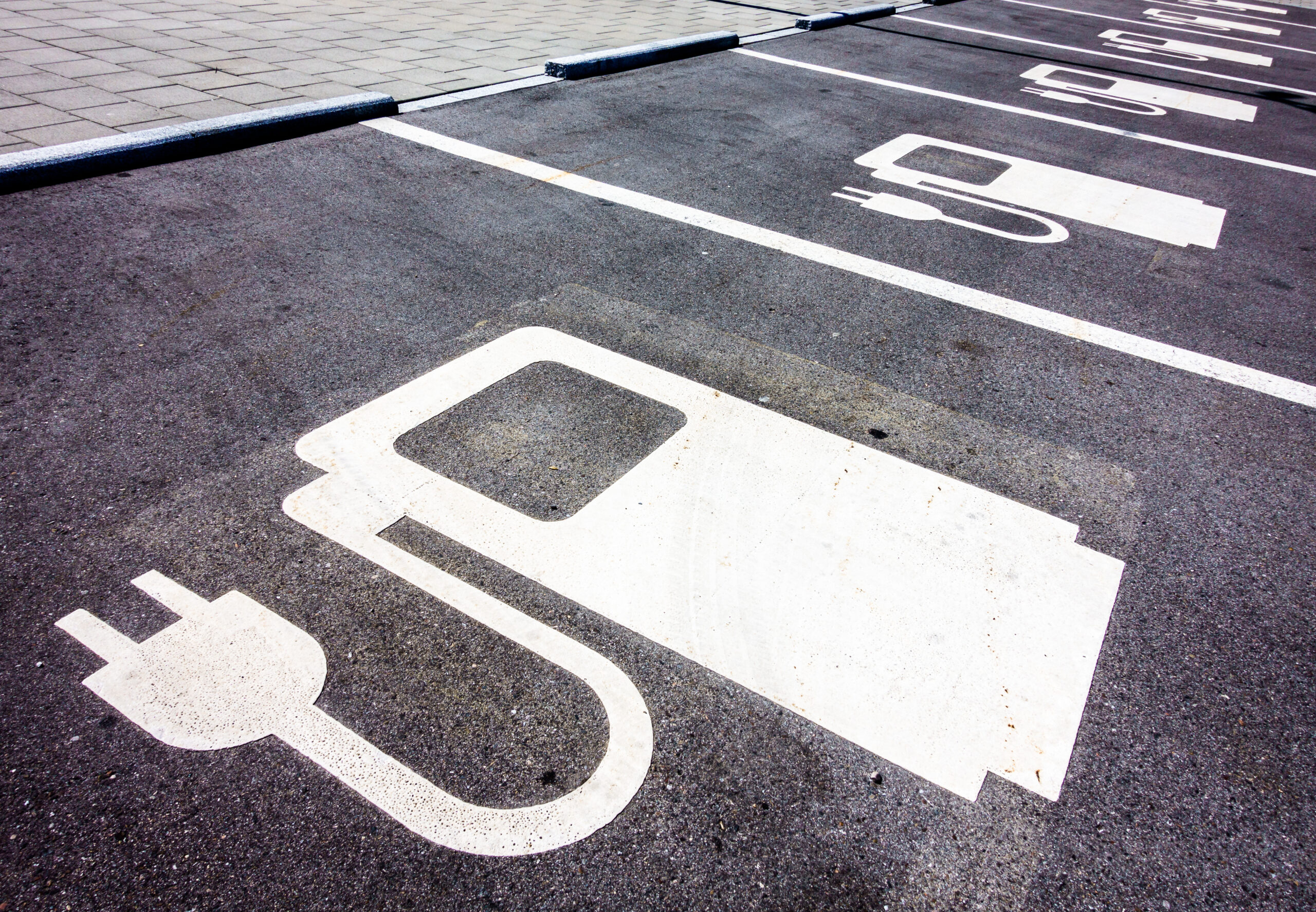 Power Supply Signs for Electric Cars