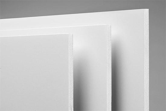 Foam Board White Edge