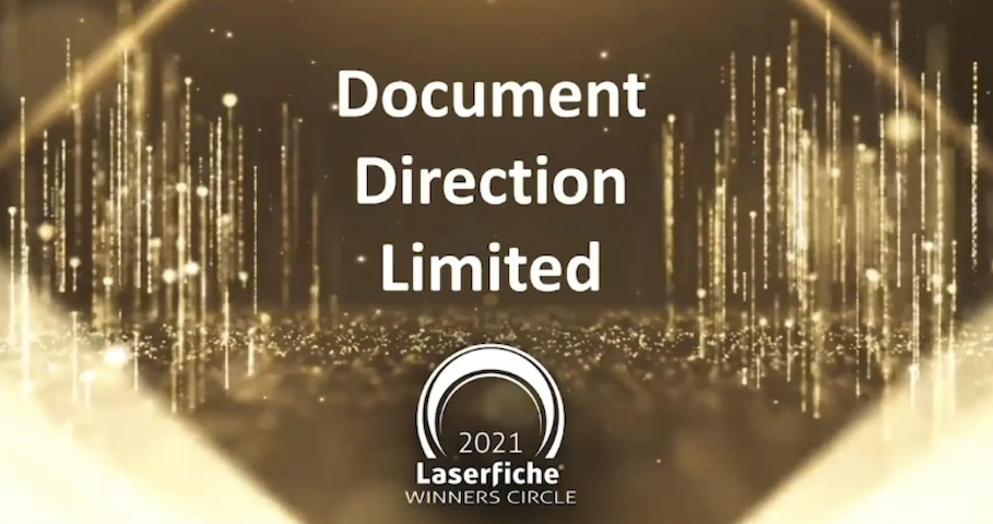 DDL - Laserfiche Winners Circle 2020-2021