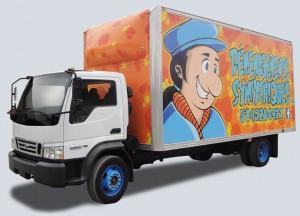 camion des déménagementsymapthiques