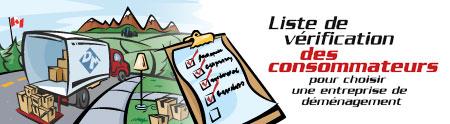 Bien choisir un déménageur : checklist