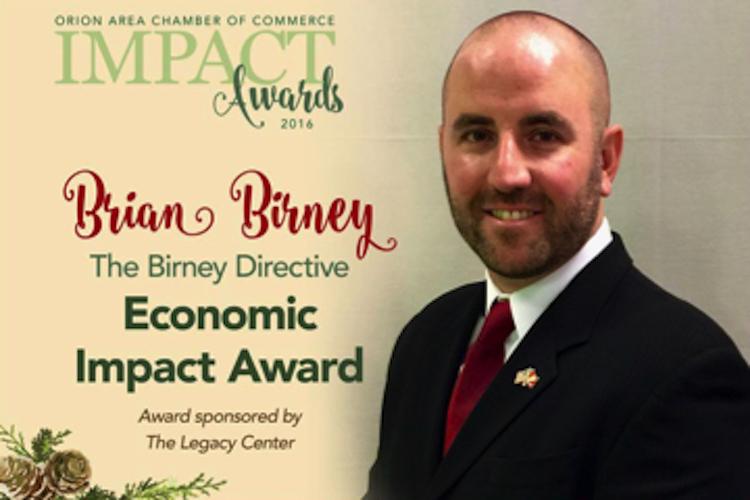 Economic Impact Award Winner