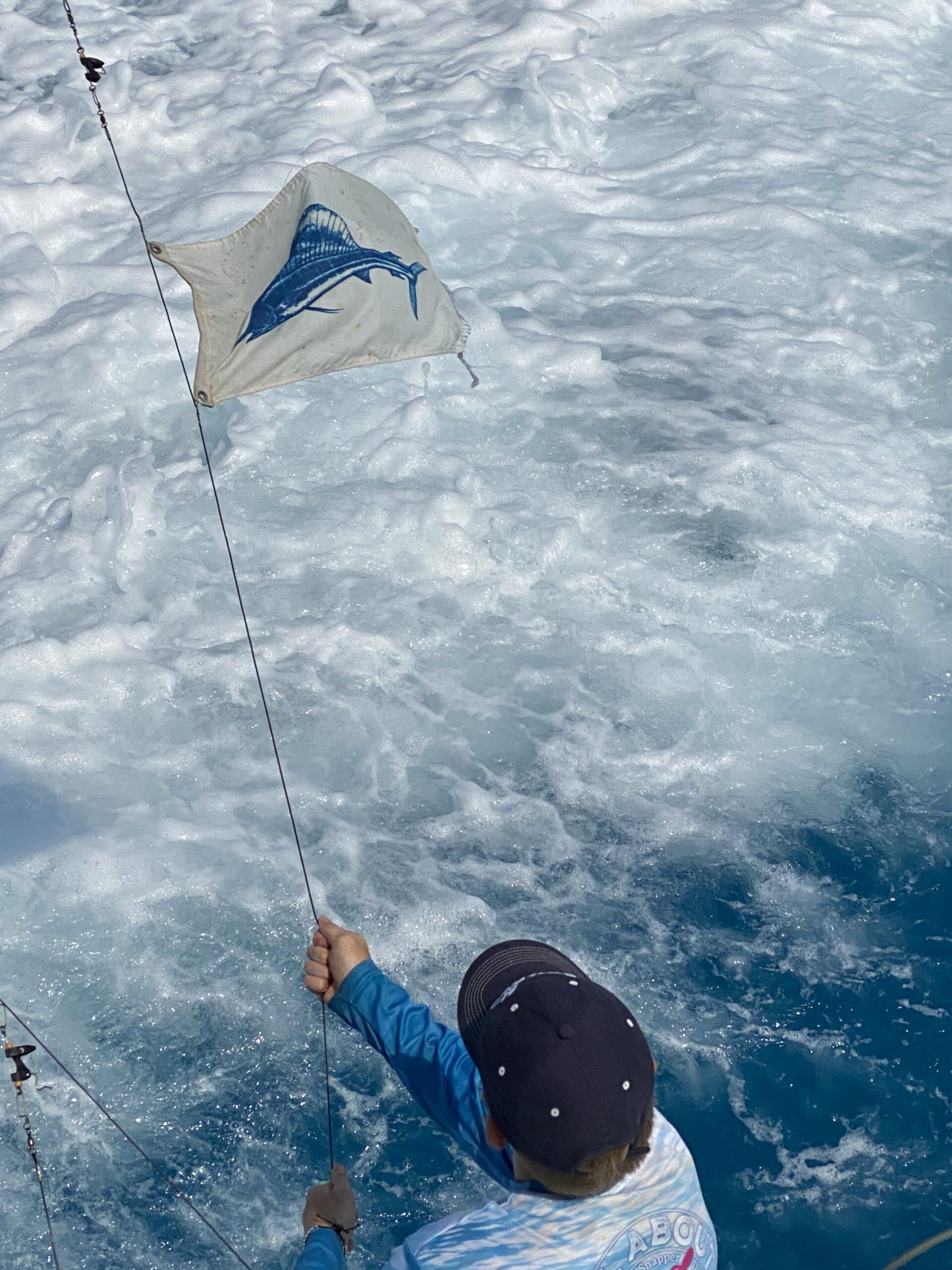 Sail Fish Flag