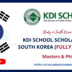 KDIS-SCHOLARSHIP-KOREA
