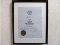 the mayor's citation