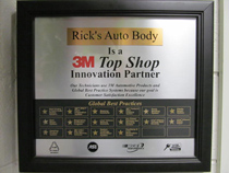 certificate from 3M