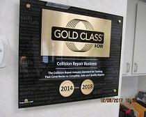 gold class award