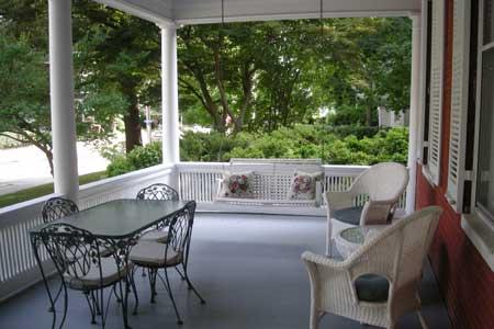 Cambridge house porch