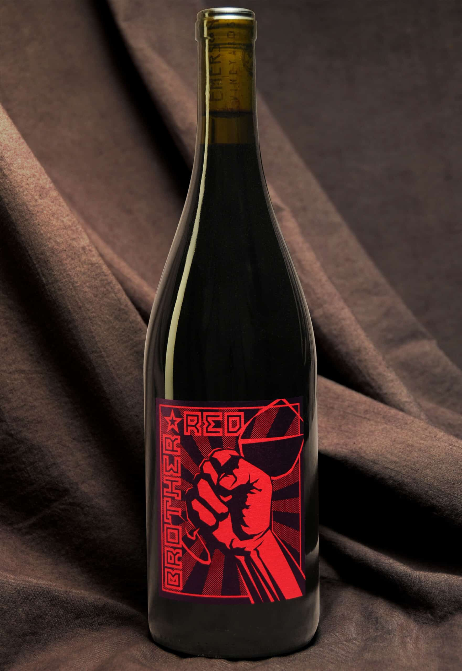 Brother Red wine bottle