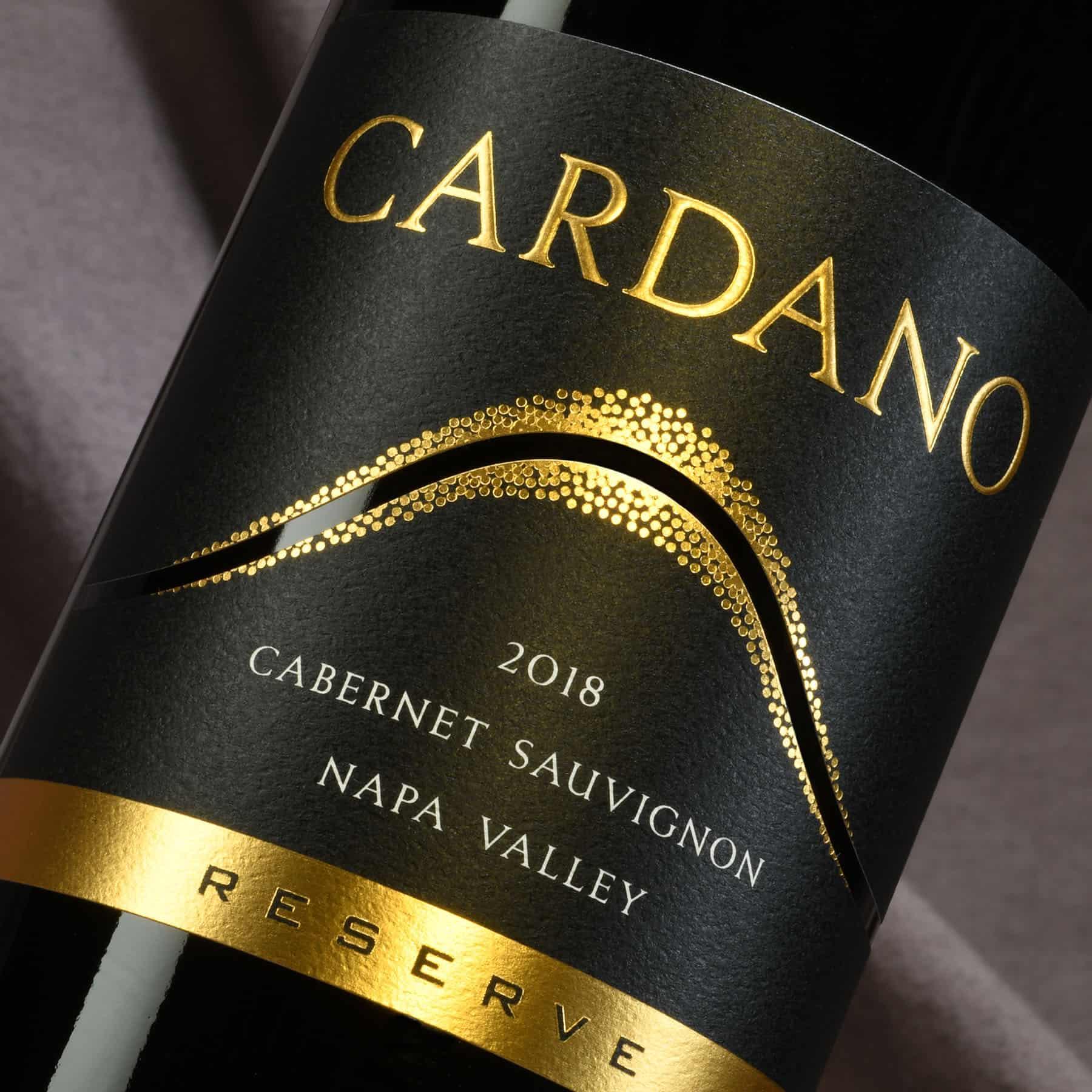 Cardano Cabernet Sauvignon Reserve wine label