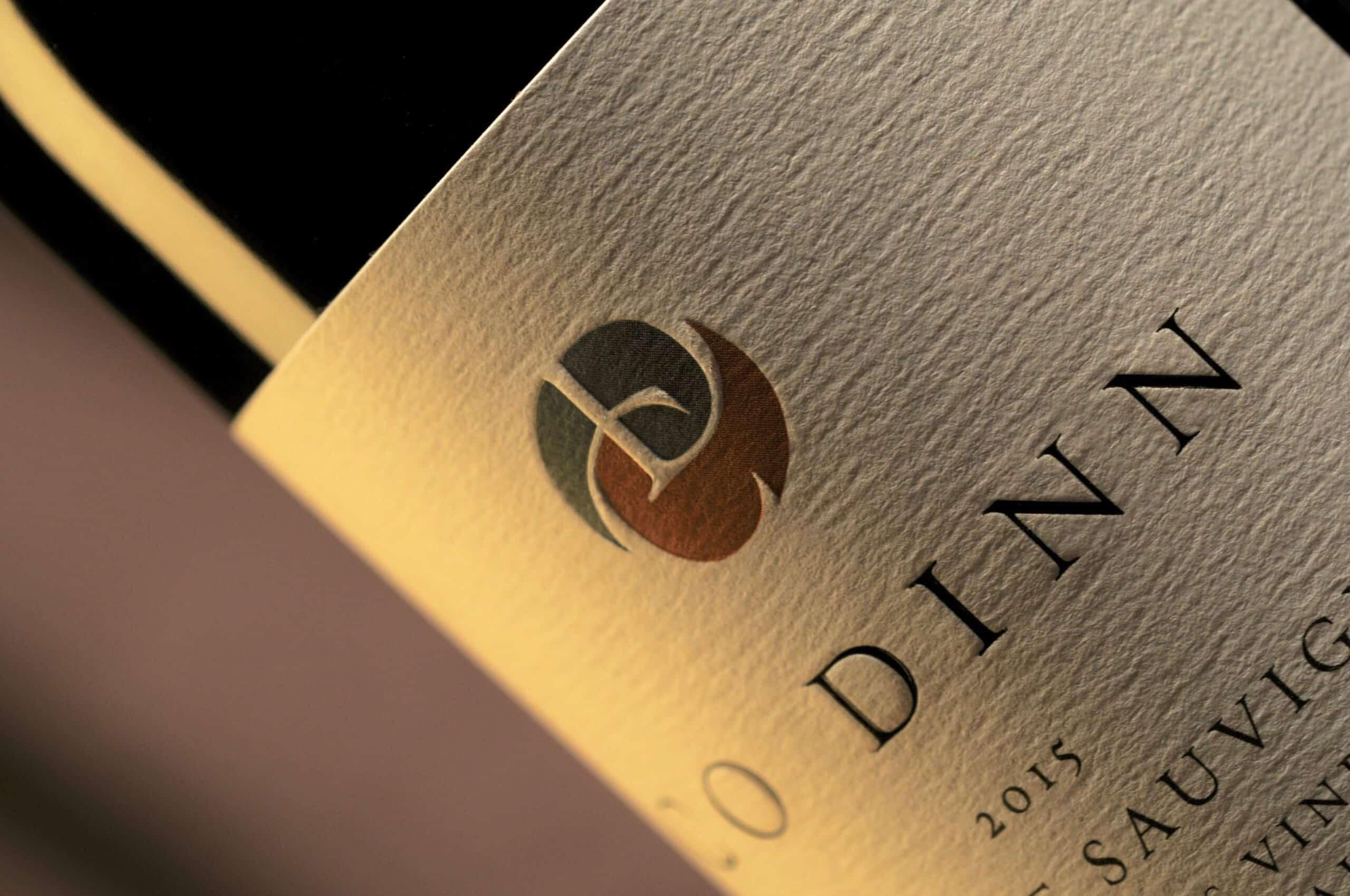 Co Dinn Cellars wine label