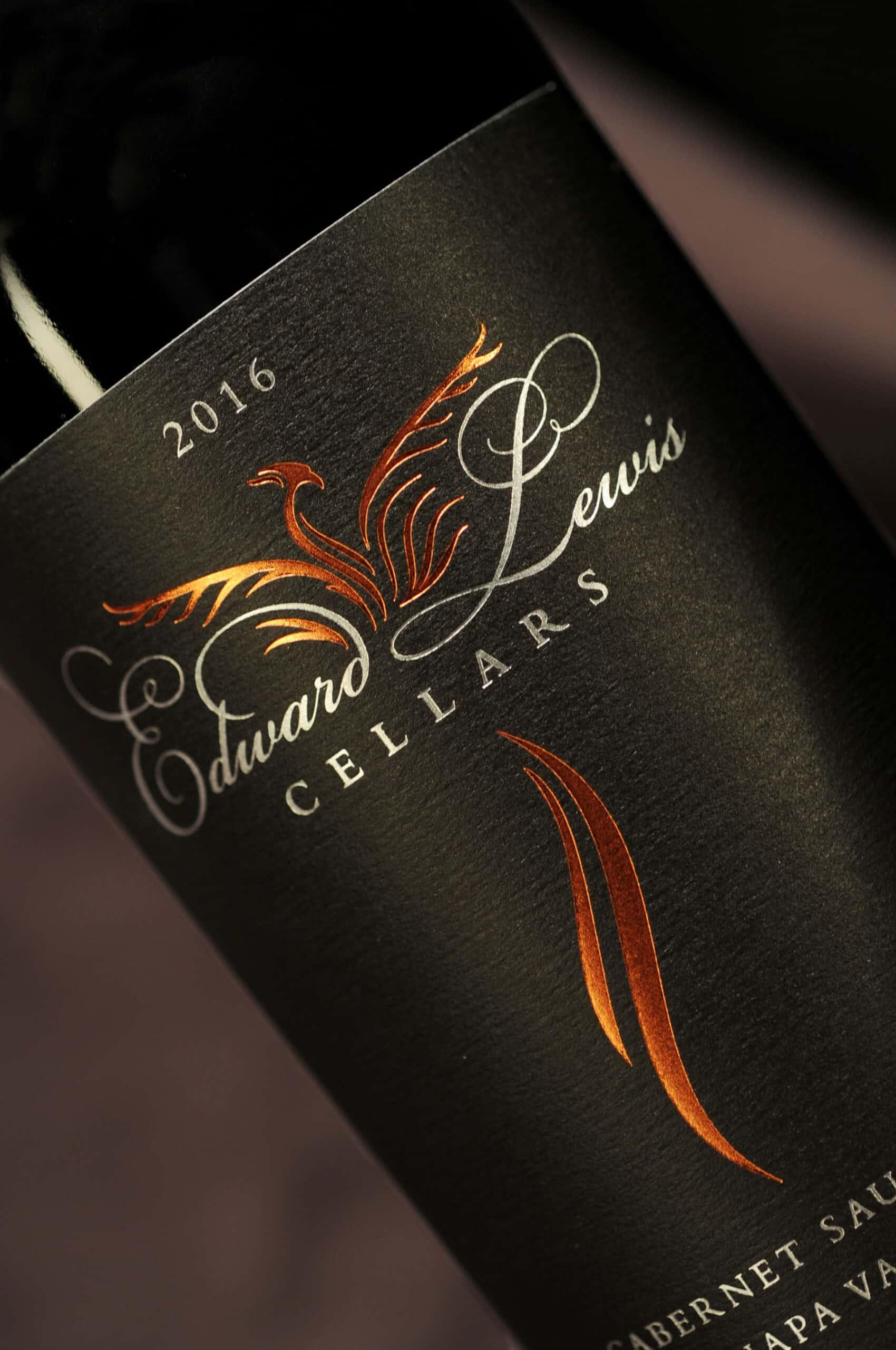 Edward Lewis Cabernet Sauvignon label