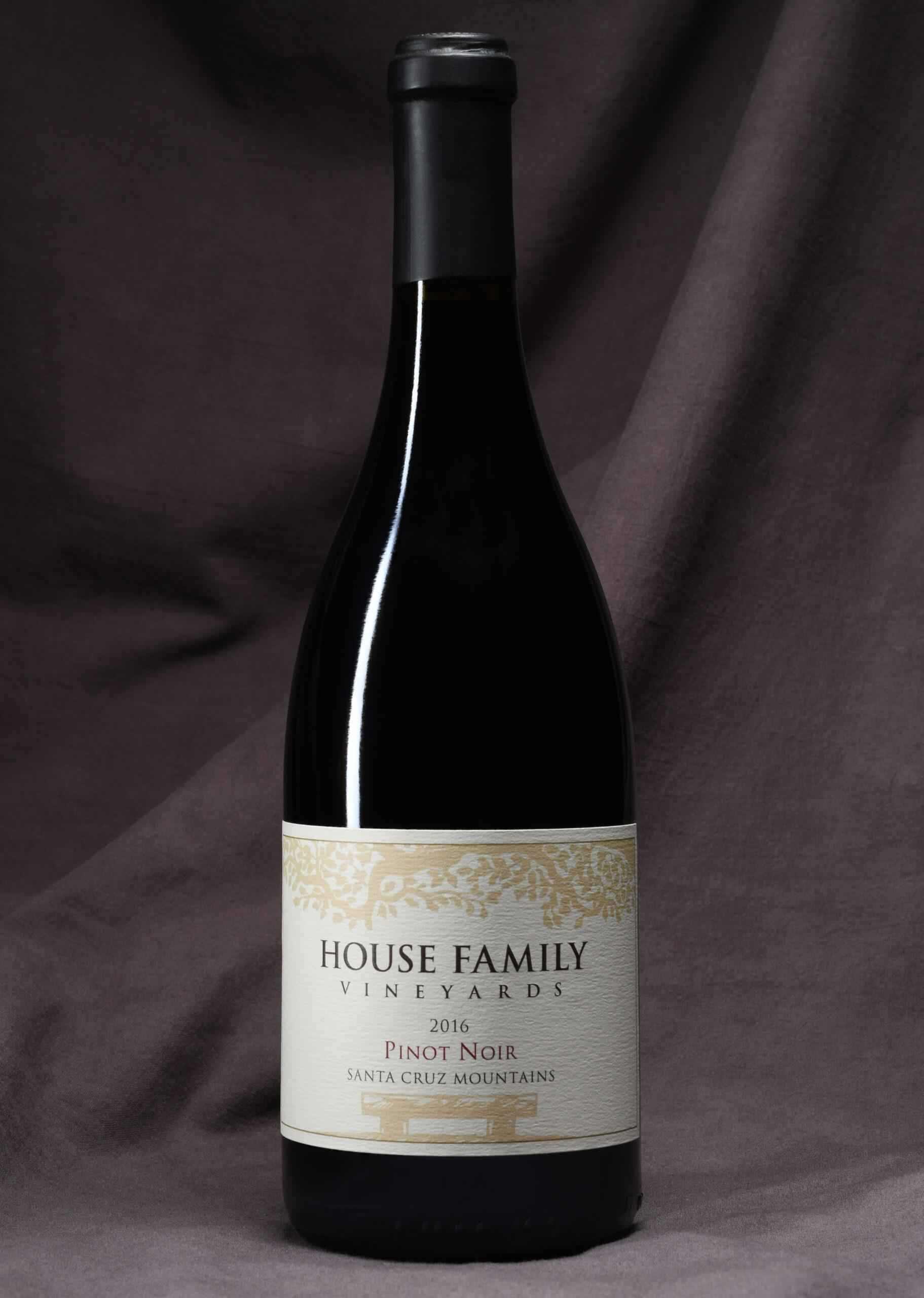 House Family Vineyards Pinot Noir bottle