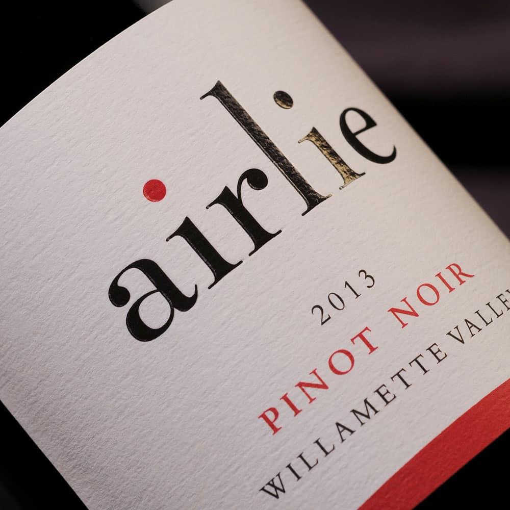 Airlie wine label