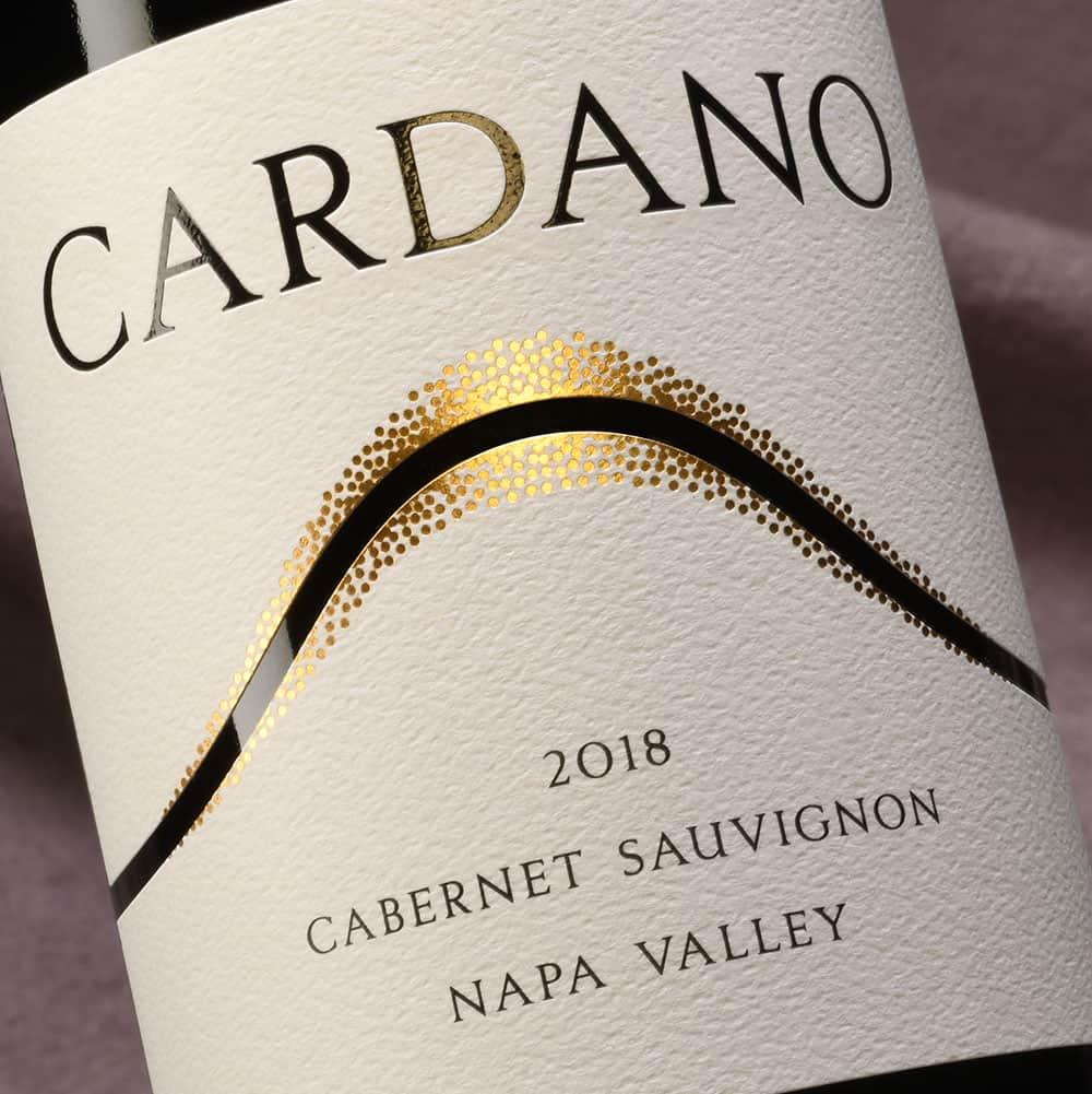 Cardano Cabernet Sauvignon wine label