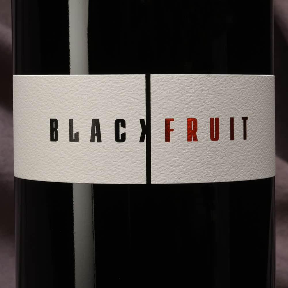 Cardano Black Fruit label
