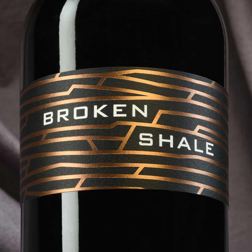 Cardano Broken Shale wine label