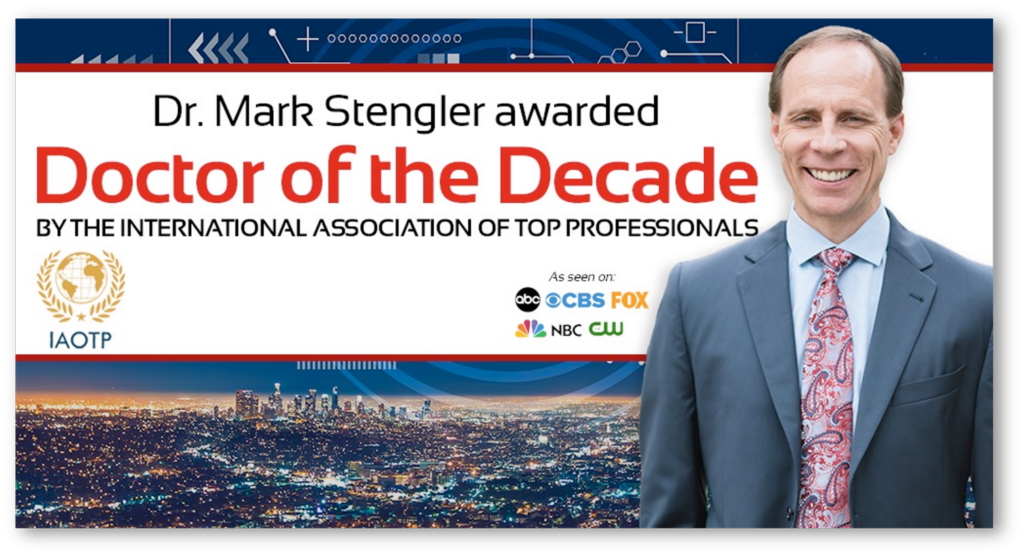 Mark Stengler Doctor Decade Award