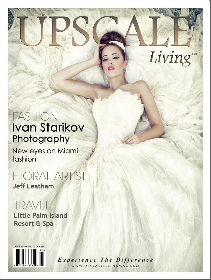 Upscale Living Cover and Spread