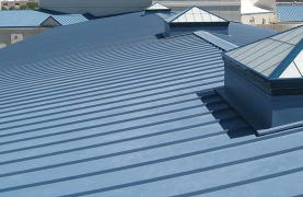 Commercial and Industrial Metal Roofs